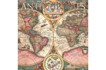 Antique Maps - 2020 Wall Calendar 16 month Premium Square 30x30cm (G)