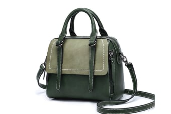 Purse And Handbag For Women Top Handle Satchel Tote With Removable Strap Green