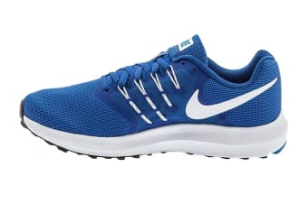 Nike Men's Run Swift Shoes (Wolf Blue/White/Blue Jay, Size 8.5)