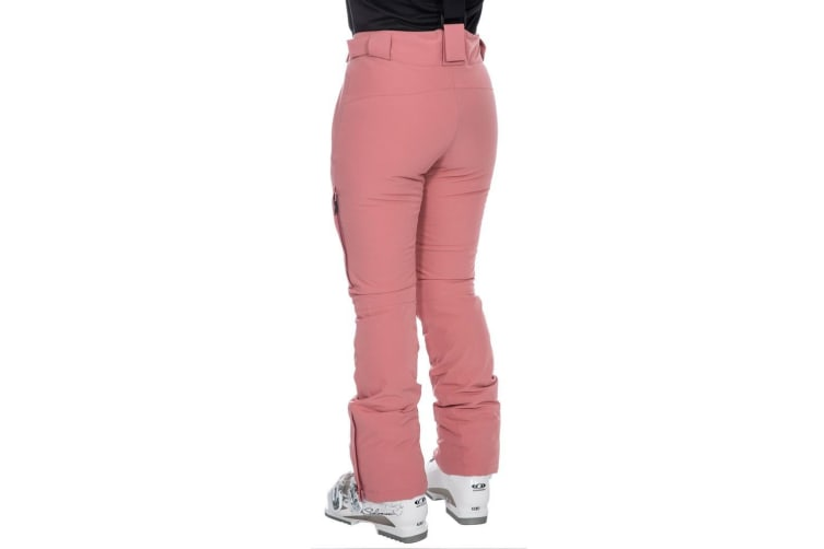 Trespass Womens/Ladies Galaya Waterproof Ski Trousers (Dusty Rose) (M)