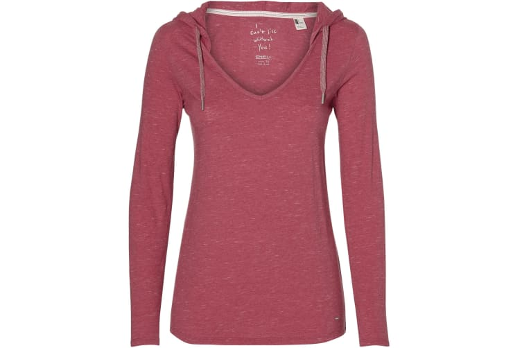 ONeill Womens/Ladies Marly Long Sleeve T-Shirt (Holly Berry) (XL)