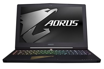 "Aorus 15.6"" X5 v8 Core i7-8850H GTX1070-8GB 16GB RAM 512GB SSD 1TB HDD FHD IPS 144Hz G-Sync Gaming Notebook (X5-1070-801)"