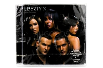 Liberty X - Being Somebody BRAND NEW SEALED MUSIC ALBUM CD - AU STOCK