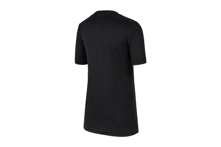 Nike Boys' Trophy Graphics Tees (Black, Size M)