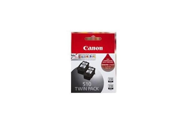 CANON PG510-TWIN PG510 FINE Black standard yield cartridge x 2