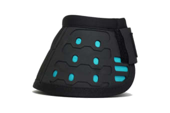 Majyk Equipe Biofoam Over Reach Boots (Black/Turquoise)