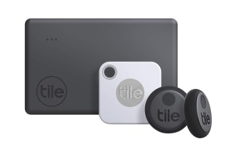 Tile Essentials Bluetooth Tracker (2020) - 4 Pack