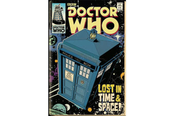 Doctor Who Tardis Poster (Multicoloured) (One Size)
