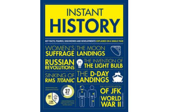 Instant History - Key thinkers, theories, discoveries and concepts explained on a single page