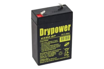 Drypower 6SB2.8P 6V 2.8Ah Backup Standby Main Power Cyclic Battery WP2.8-6 RT628 CP625