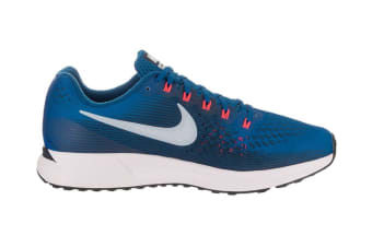 Nike Men's Air Zoom Pegasus 34 Running Shoe (Blue Jay/Armory Blue, Size 12)