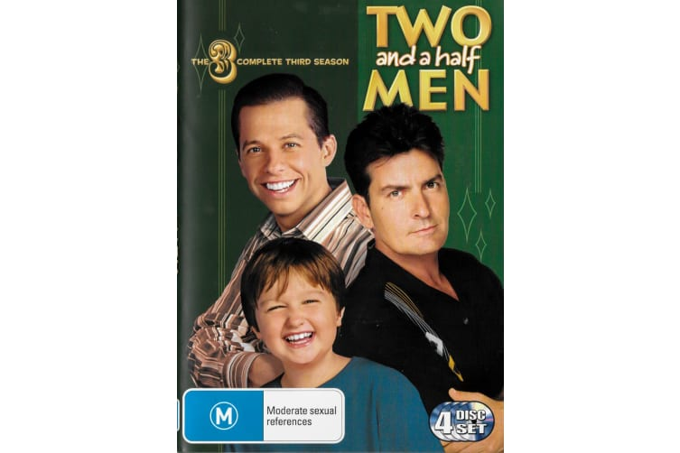 Two and a half Men The Complete Third Season - Series Region 4 Preowned DVD: DISC LIKE NEW