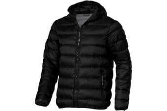 Elevate Mens Norquay Insulated Jacket (Solid Black) (M)