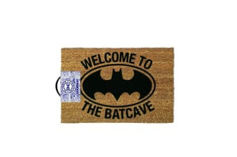 Batman Batcave Doormat (Brown) (One Size)
