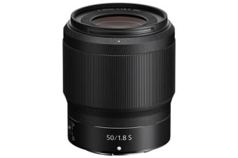 New Nikon NIKKOR Z 50mm f/1.8 S Lens (FREE DELIVERY + 1 YEAR AU WARRANTY)