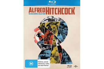 Alfred Hitchcock The Masterpiece Collection Blu-ray Region B