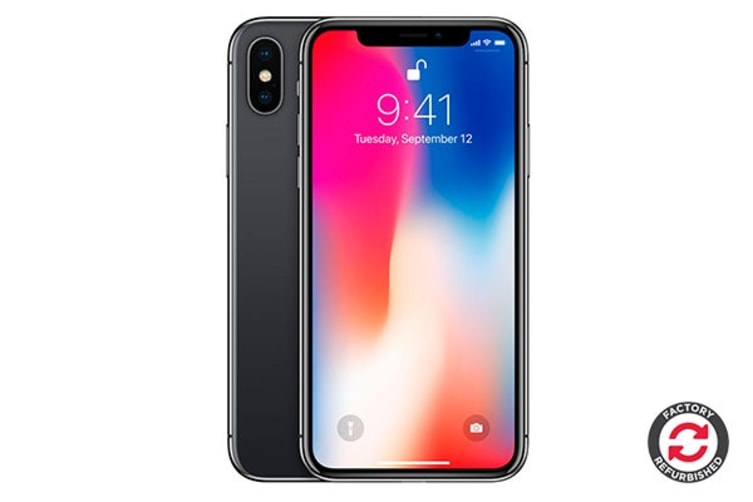 Apple iPhone X Refurbished (64GB, Space Grey) - A Grade