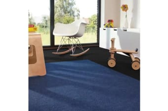 Premium Carpet Tiles 50x50cm 20pcs in NAVY BLUE