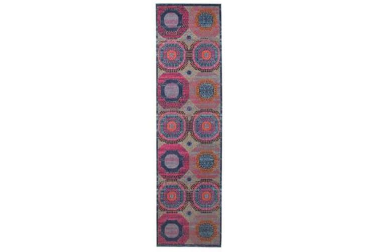 Whisper Dots Multi Runner Rug 400X80cm