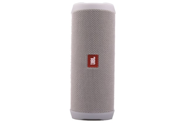 JBL Flip 4 Waterproof Bluetooth Speaker (Grey/Silver)