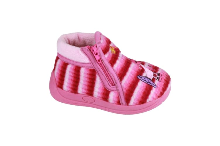 Mirak Safari Childrens Unisex Slippers (Pink) (27 EUR)