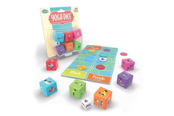 ThinkFun Yoga Dice Movement Game for Kids