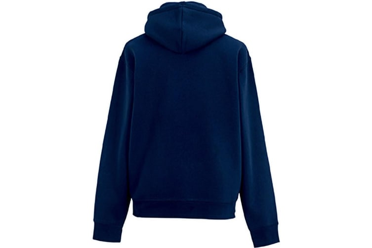Russell Mens Authentic Hooded Sweatshirt / Hoodie (French Navy) (XS)