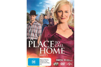 A Place to Call Home Series 3 DVD Region 4