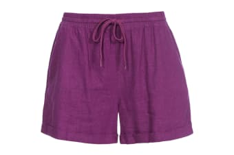 Trespass Womens/Ladies Belotti Shorts (Grape Wine) (S)