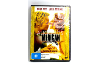 Brad Pitt - The Mexican - Region 4 Rare- Aus Stock DVD PREOWNED: DISC LIKE NEW
