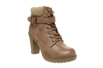 Bata Lace Up Boot