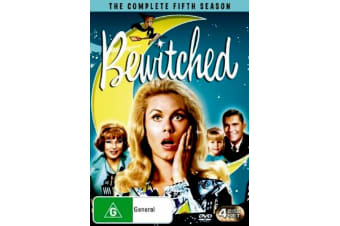 Bewitched : Season 5 -Comedy Series Rare- Aus Stock DVD PREOWNED: DISC LIKE NEW