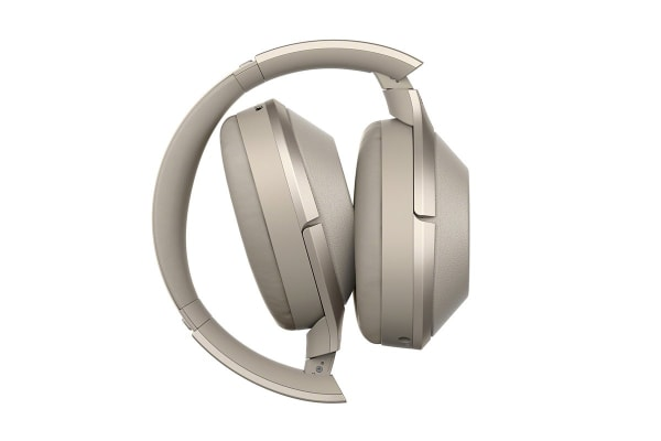 Sony Wireless Noise Cancelling Headphones - Gold (WH1000XM2N)