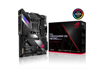 ASUS ROG CROSSHAIR VIII HERO (WI-FI) X570 ATX For AMD Ryzen 2nd/3rd Gen CPU