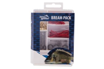 Jarvis Walker 71 Piece Bream Fishing Pack - Assorted Fishing Tackle Kit