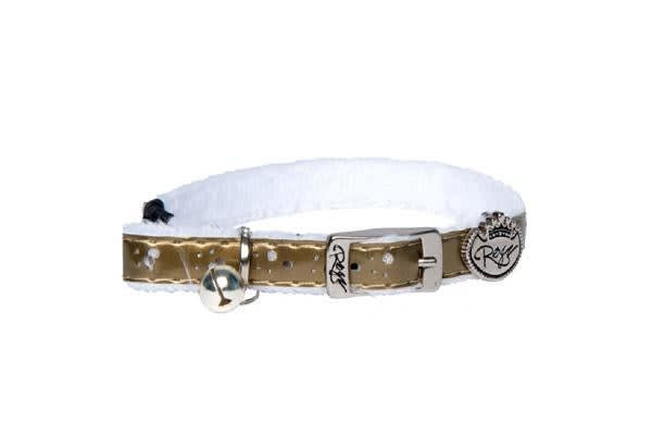 Rogz Trendycat Pin Buckle Collar Gold