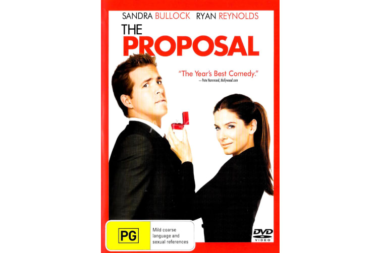 The Proposal - Region 4 Rare- Aus Stock DVD PREOWNED: DISC LIKE NEW