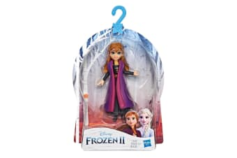 Disney Frozen 2 Anna Small Doll With Removable Cape