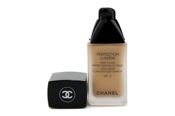 Chanel Perfection Lumiere Long Wear Flawless Fluid Make Up SPF 10 - # 44 Beige Amber (30ml/1oz)