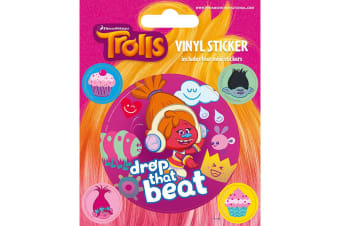 Trolls Stickers (Multi-colour) (One Size)