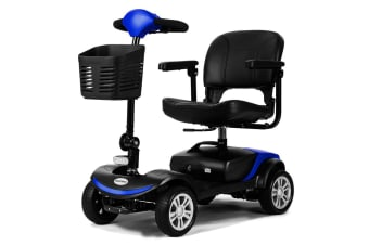 EQUIPMED Mobility Scooter Electric Motorised 4 Wheel Power Portable Folding