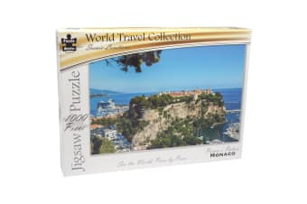 Puzzle Master Scenic Locations Gold Edition - Prince's Palace, Monaco 1000 Piece Puzzle