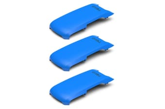 3x Ryze Snap On Top Cover Accessories Powered By DJI for Tello Drone/Camera Blue