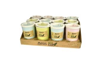 Oasis Double Wall Eco Coffee Cup 300ml- Green