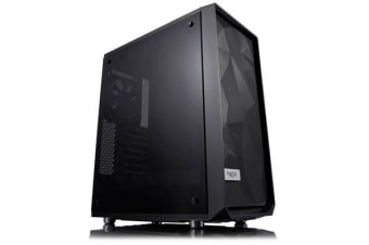FRACTAL DESIGN Meshify C Mid Tower Case light tint blackout