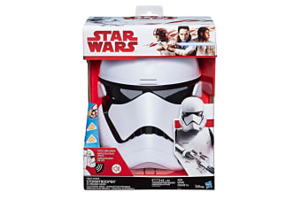 Star Wars The Last Jedi First Order Stormtrooper Electronic Mask