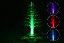 4 Port Christmas Tree USB Hub - 4 Pack