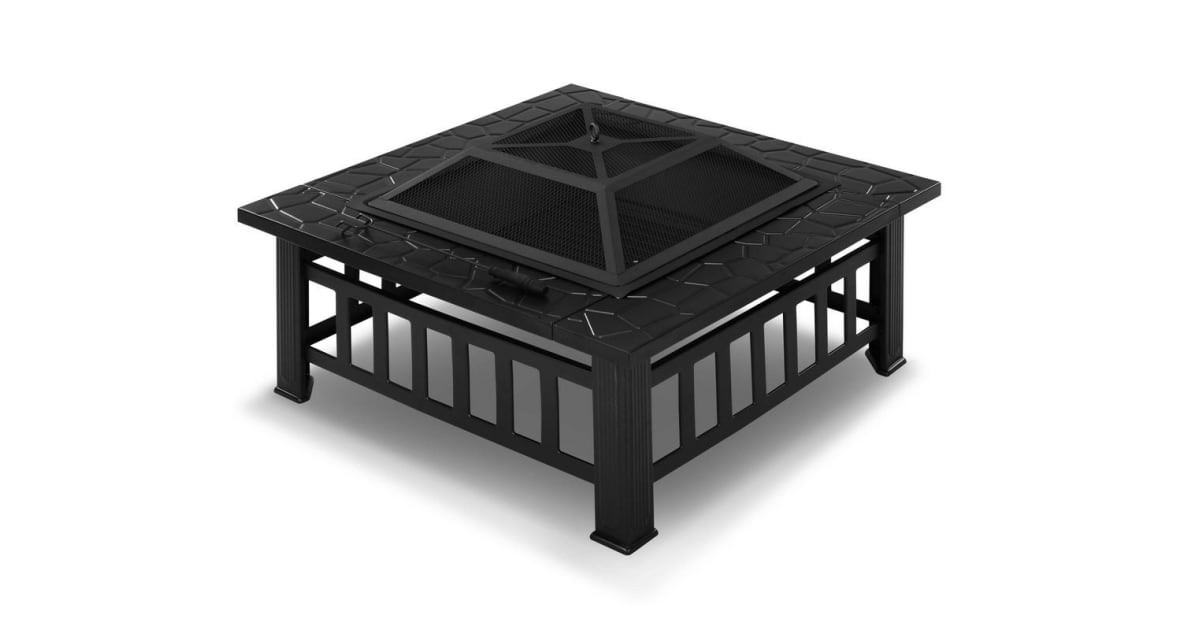 cookmaster 2 in 1 outdoor fire pit grill. Black Bedroom Furniture Sets. Home Design Ideas