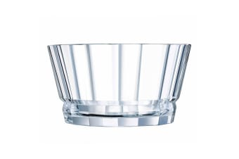 Cristal D'Arques Macassar 22cm Salad Serving Glass Bowl Tableware Servingware
