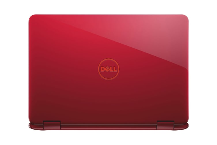 "Dell Inspiron 11 3000 11.6"" Convertible 2-in-1 Touch Screen Chromebook (A6-9220E, 4GB RAM, 32GB, Red) - Certified Refurbished"